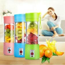 Electric Juicer Usb Fruit Rechargeable Portable Mini Maker Blender Smoothie Cup