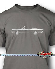 1969 Plymouth Road Runner Convertible T-Shirt for Men - Multiple Colors & Sizes
