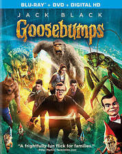 Goosebumps (Blu-ray / DVD, 2016, 2-Disc Set (DOES NOT INCLUDE DIGITAL COPY)