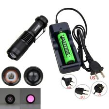 OSRAM Infrared IR 850nm 7W Night Vision Zoomable LED Flashlight Torch Light