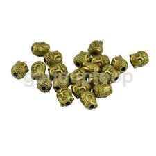 20Pcs Buddha Head Beads Spacer DIY Findings for Bracelet Earrings Necklace