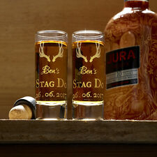 Stag Party/ Personalised Shot Glasses / Stag Do Accessories / Wedding Gift