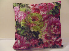 Designers Guild floral Fabric Forsyth Magenta  Cushion Cover