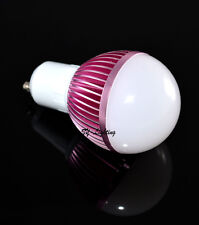 1PC 9W GU10 Warm/Pure White SMD LED Ball Bulb Globe Lamp Light AC 85-265V