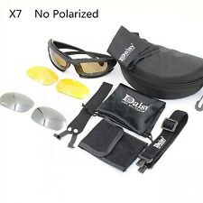 Daisy X7 Military Tactical Goggles Motorcycle Riding Glasses Eyewear Sunglasses