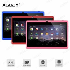 XGODY 7'' Quad Core Tablet PC Google Android 4.4 KitKat 8GB WIFI Dual Camera HD