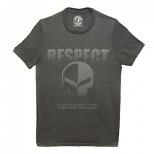 C7R JAKE CORVETTE RACING RESPECT TSHIRT DARK GRAY  BUDS CHEVROLET ST MARYS