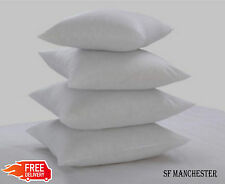 Square Hollow Fibre Cushion Pads, Inners Fillers Inserts Multi-Pack