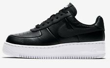 Nike AIR FORCE-1 UPSTEP WOMEN'S SHOE Black/White/Black- Size US 10.5, 11 Or 11.5