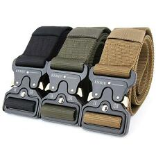 Tactical Belts Military Web Nylon Survival Belts Mens Army Military Combat Gear