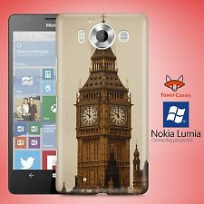 Fun Classic Retro Vintage Big Ben Clock Tower Case Cover for Nokia Lumia