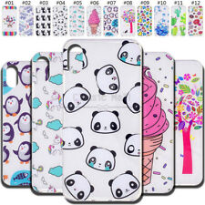 For Apple Protective Back Rubber Silicone TPU Shockproof Soft Skin Cover Case