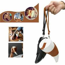 Horns Shaped Mug Coffee Insulation Vacuum Thermos Cup Flask Water Bottle