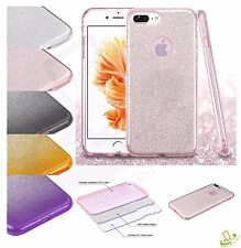 Sparkling TPU Bling Glitter Hybrid  Luxury Soft Case Cover For iPhone 7 7 Plus