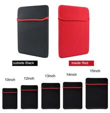 """7""""-17"""" Inch Soft Neoprene Sleeve Pouch Bag Case For Tablet Laptop PC Notebook"""