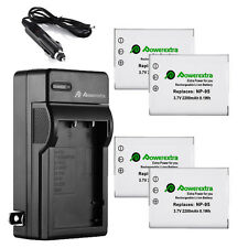 NP-95 Battery + Charger for FUJIFILM Fuji Finepix X-S1 F30 Zoom F31fd X100S X100