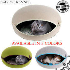 New Pet Dog Cat Sleeping Bed Cushion House Soft Warm Kennel Dog Mat Blanket Cave