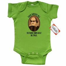 Inktastic To Thine Own Self Be True Shakespeare Infant Creeper William Hamlet