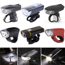 Super Bright Waterproof LED Bike Front Light USB Rechargeable Safety Headlight