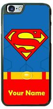 Superman Classic Uniform Phone Case Cover Fits iPhone Samsung LG iPod with Name!