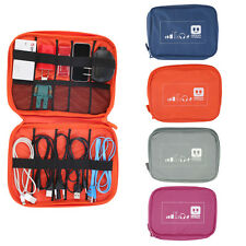 Earphone Data Cables USB Flash Drives Travel Case Digital Storage Bag Pouch AW