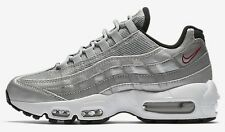 Nike AIR MAX-95 QS WOMEN'S SHOE Metallic Silver/Black/White-Size US 7.5,8 Or 8.5