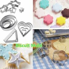Stainless Steel Biscuit Mold DIY Baking Mould Cookies Cake Pastry Decoration AW