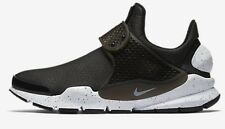 Nike SOCK DART PREMIUM WOMEN'S SHOE Synthetic Leather BLACK/WHITE- US 9,10 Or 11