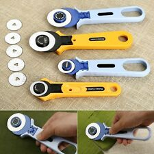 Rotary Cutter Fabric Cloth Sewing Cutting Quilting Crafts Tools Knife 28/45mm