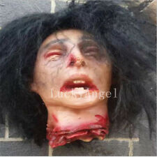 Dead Head Halloween Prop Walking Decoration Corpse Life Size Haunted House Sever