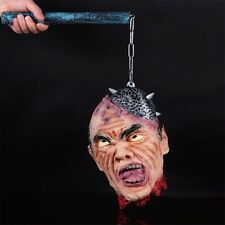 Head Cut Off Prop Halloween Haunted House Latex  Zombie Party Costumes Gothic