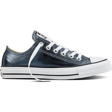 Converse Chuck Taylor All Star Metallic Ox Blue Fir Textile Trainers Shoes