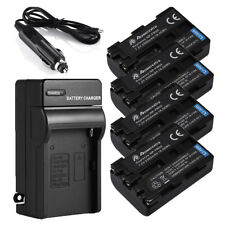 2300mAh NP-FM50 Battery + Charger For Sony NP-FM30 DSC-S30 S85 707 MVC-CD200 250