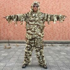Sniper Desert Ghillie Suit Cloth Strip 2PCS Military Camouflage Hunting Clothing