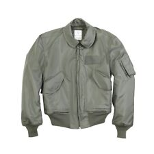 Alpha Industries CWU 45P Nomex Mil Spec Flight Jacket Sage Green USA Made
