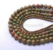 Wholesale Natural  Multi-color Gemstone Round Spacer Loose Bead 4-12MM