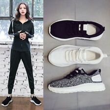 Women Lace Up Breathable Lightweight Sport Walking Shoes Casual Sneaker Trainers