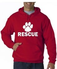 Pet Rescue Dog Cat Pup Pet Adoption Shelter Full Pullover Hoodie