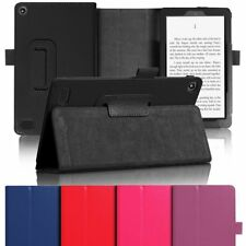 Smart Leather Case Cover Stand For Amazon Kindle Fire 7 HD8 2017 Generation 2015