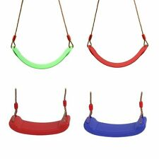 4Types Replacement Childrens Kids Single Swing Seat Playground Backyard Outdoor
