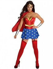 Wonder Woman Costume Halloween Party Outfit Girl Superhero Costplay Costume Set