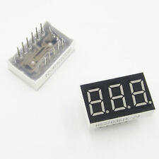 1/5/10PCS LED Red 0.36 inch 3 digit 7 seg segment Common Cathode led display