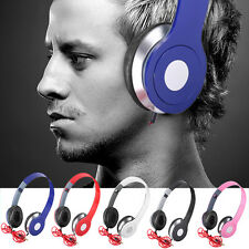 3.5m Stereo Headphone Wired Earphone Heavy Deep Bass Style for iPhone MP3 MP4