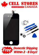 LCD Touch Screen Digitizer Display Assembly Replacement for iPhone 4 +Tools Set