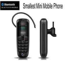 Smallest MINI Micro Mobile Cell Phone Unlocked GSM Sim Bluetooth Headset US FAST