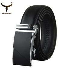Male Leather Belts for Men Automatic Buckle Strap