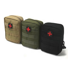 Tactical First Aid Kit Bag Molle Medical Case Travel Emergency EMT Pack Military