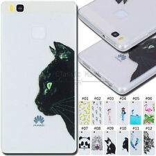 For Huawei P9 Lite Shockproof Back Rubber TPU Silicone Gel Soft Case Skin Cover