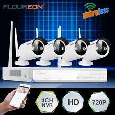 4CH 1080P 1.0/1.3MP Wireless IP Camera CCTV Security Video Recorder NVR System