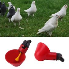Poultry Water Plastic Drinking Cups Poultry Chicken Hen Bird Automatic Drinker